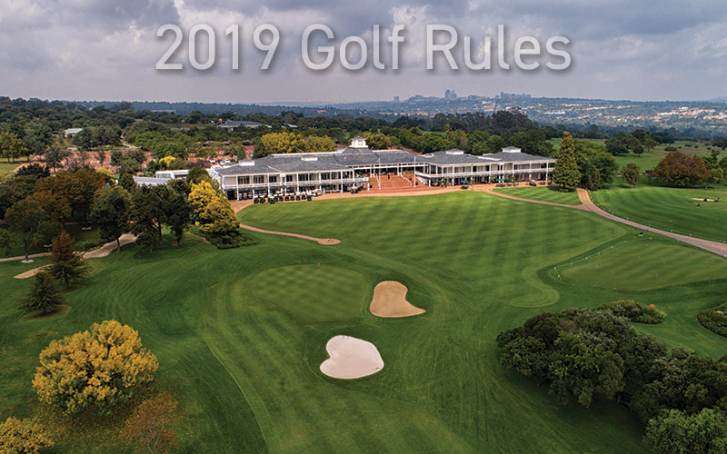 2019 New Golf Rules